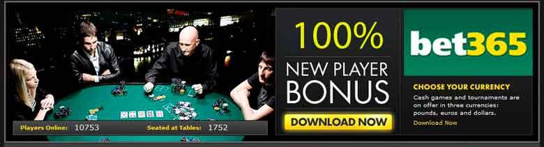 Bet365 bonus poker