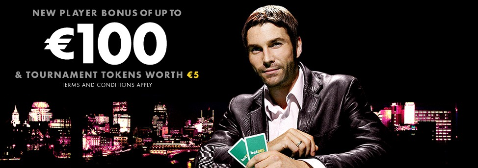 Bonus code bet365 poker